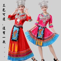 National costume / stage costume Winter 2016 Red, sky blue, rose red, red long, rose red long, sky blue long S (chest 2'5), m (chest 2'6), l (chest 2'7), XL (chest 2'8), 2XL (chest 2'9), 3XL (chest 3'2), 4XL (chest 3'2), 5XL (chest 3'4) 25-35 years old