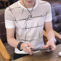 T-shirt Youth fashion white routine L Issoudun  YSDBK13 Cotton 95% polyurethane elastic fiber (spandex) 5% other Summer of 2018 Pure e-commerce (online only)