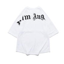 T-shirt Youth fashion White, black routine M,L,XL,2XL Others Short sleeve Crew neck easy dance summer teenagers Off shoulder sleeve tide 2020 Alphanumeric printing cotton The thought of writing No iron treatment More than 95%
