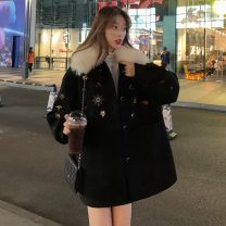 woolen coat Winter of 2019 S. M, l, XXS pre-sale Picture color other 30% and below Medium length commute Korean version Other / other 18-24 years old