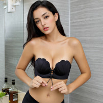 Bras Black complexion 32/70A 32/70B 34/75A 34/75B 36/80A 36/80B 38/85A 38/85B Strapless Rear three row buckle Wireless  1/2 strapless  Other / other