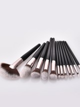 Make up brush Other / other Pony Hair 12 brushes without brush pack 12 brushes + brush pack 12 brushes + brush barrel Portable China Normal specification Any skin type 5 years Others
