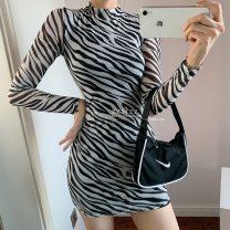 Dress Autumn 2020 stripe S,M,L