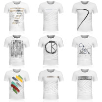 T-shirt Fashion City routine S,M,L,XL,2XL,3XL Clare Kent Jeans Short sleeve Crew neck Self cultivation daily summer 1ck01 Cotton 95% polyurethane elastic fiber (spandex) 5% youth routine Simplicity in Europe and America 2020 other printing Cotton ammonia other