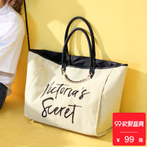 Bag The single shoulder bag canvas Tote Bag Mayer trip Off white brand new Japan and South Korea large leisure time soft Magnetic buckle yes Strapless