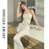 Professional dress suit Average size white Summer 2021 Other styles A-line skirt 18-25 years old
