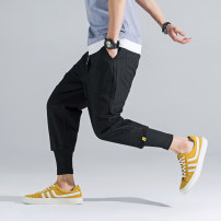 Casual pants Others Youth fashion Black, red, green, khaki M,L,XL,2XL trousers motion easy S5-5-C1879