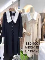 Dress Spring 2021 Black does not change, apricot does not change S,M,L