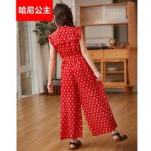 suit Almighty bear gules 120cm,130cm,140cm,150cm,160cm female summer leisure time Sleeveless + pants 2 pieces thickening There are models in the real shooting Zipper shirt nothing Dot other children Learning reward Class B Cotton 95% polyester 5% Chinese Mainland Zhejiang Province Huzhou City