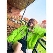 short coat Spring 2021 M, L Long sleeves routine Thin money singleton  easy commute routine stand collar zipper shape 25-29 years old Pocket, zipper, stitching