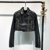 leather clothing Other / other Spring 2020 S,M,L black have cash less than that is registered in the accounts Long sleeves Self cultivation street 2A-1738 PU