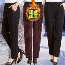 Casual pants No.1 Chunqiu No.2 Chunqiu No.3 Chunqiu No.5 Chunqiu No.1 Jiarong No.2 Jiarong No.3 Jiarong No.5 XL 2XL 3XL 4XL 5XL Autumn of 2019 trousers Straight pants low-waisted Versatile thickening 40-49 years old 31% (inclusive) - 50% (inclusive) 2828-025L Tamarind pocket PU