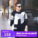 T-shirt / sweater GxxH Fashion City black 2XL 3XL 4XL 5XL 6XL 7XL routine Socket Crew neck Long sleeves t19739c winter easy 2019 Polyacrylonitrile fiber (acrylic fiber) 55% cotton 45% leisure time tide Large size routine other Autumn of 2019 washing Regular wool (10 stitches, 12 stitches) other