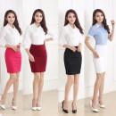 skirt Summer 2017 XS S M L XL XXL XXXL Short skirt Versatile High waist skirt Solid color Type A More than 95% other Dieeyral / dieira polyester fiber Polyester 100% Pure e-commerce (online only)