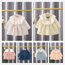 Dress Pink, yellow, orange, light blue, dark blue, blue, purple, light green, general yellow, camouflage orange, light pink, pearl yellow, bright orange, dark orange female Other / other 66cm,73cm,80cm,85cm,90cm,95cm,100cm,105cm Cotton 94% polyurethane elastic fiber (spandex) 6% spring and autumn