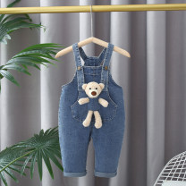 trousers Other / other female 73cm,80cm,85cm,90cm,95cm,100cm,105cm,110cm wathet spring and autumn trousers Cartoon rompers Cotton denim Open crotch Cotton 97% polyurethane elastic fiber (spandex) 3% 12 months, 3 years, 18 months, 9 months, 6 months, 2 years, 4 years Chinese Mainland
