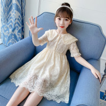 Dress Off white, pink female Other / other 110cm,120cm,130cm,140cm,150cm,160cm Cotton 90% other 10% summer princess Short sleeve other other Princess Dress Class A 7, 8, 3, 6, 2, 13, 11, 5, 4, 10, 9, 12 Chinese Mainland
