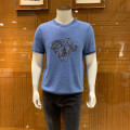 T-shirt Fashion City thin 46,48,50,52,54 Lucadilon Short sleeve Crew neck standard Other leisure summer youth routine Youthful vigor 2020 Solid color Embroidery other Animal design Domestic famous brands