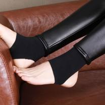 Leggings Winter of 2018 XS,S,M,L,XL,2XL,3XL,4XL Plush trousers T8283 25-29 years old Other / other polyester 96% and above