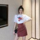Women's large Summer 2020 Large L Large XL s M skirt Two piece set Socket Yingzi instrument 25-29 years old Polyester 80% other 20% Pure e-commerce (online only)