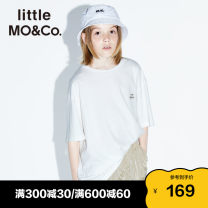 T-shirt Little MO&CO. 110/52 110/56 120/56 130/60 140/64 150/68 155/72 neutral spring and autumn Short sleeve Crew neck Europe and America There are models in the real shooting nothing Pure cotton (100% cotton content) other Cotton 100% Class B Spring 2020 Chinese Mainland Guangdong Province