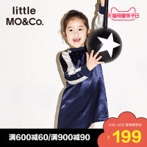 Dress female Little MO&CO. 110/52 110/56 120/56 130/60 140/64 150/68 Viscose (viscose) 100% spring and autumn Europe and America Long sleeves Autumn of 2018 3 years old, 4 years old, 5 years old, 6 years old, 7 years old, 8 years old, 9 years old, 10 years old, 11 years old, 12 years old
