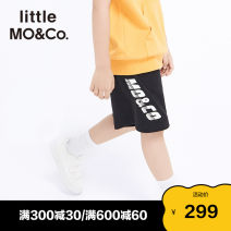 trousers Little MO&CO. male 110/53 120/56 130/59 140/60 150/63 160/66 summer shorts Europe and America There are models in the real shooting Casual pants Leather belt middle-waisted Pure cotton (100% content) Don't open the crotch Cotton 100% Summer 2021 Chinese Mainland Guangdong Province