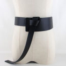 Belt / belt / chain Pu (artificial leather) female belt Versatile Single loop Youth, youth, middle age Glossy surface soft surface 7cm alone 118cm