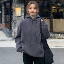 Women's large Autumn 2020 S M L XL singleton  commute easy Long sleeves Korean version routine Ou Yulin 18-24 years old Triacetate fiber (triacetate fiber) 100%