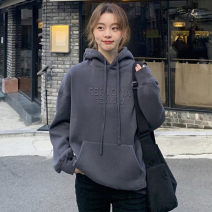 Women's large Autumn 2020 S M L XL singleton  commute easy Long sleeves Korean version routine Ou Yulin 18-24 years old Triacetate fiber (triacetate fiber) 100%
