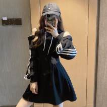 Women's large Spring 2021 Grey black white black [adding pile] white [adding pile] grey [adding pile] S M L XL Self cultivation Long sleeves Solid color other have cash less than that is registered in the accounts bishop sleeve Ou Yulin 25-29 years old 96% and above Other 100%
