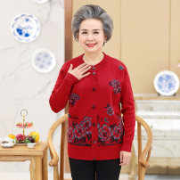 Middle aged and old women's wear Autumn of 2019 XL (90-115 kg recommended) [Collection Plus shopping cart payment, priority delivery] 2XL (116-135 kg recommended) [free freight insurance return worry free] 3XL (135-150 kg recommended) [buy two pieces (sets) of silk scarves for the whole store] Home