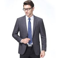man 's suit Tartar Oana  Youth fashion thick 170//M,175/L,180/XL,185/XXL,190/XXXL 227-1877 Extra wide A double breasted button Other leisure Double slit middle age Long sleeves winter routine