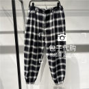 Casual pants Peacebird Youth fashion B2GGB2184 S,M,L,XL,2XL routine Ninth pants Other leisure easy B2GGB2184 summer Youthful vigor 2021 middle-waisted Little feet Haren pants Fashion brand
