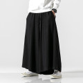Casual pants Others Youth fashion M,L,XL,2XL,3XL,4XL,5XL routine trousers Other leisure easy No bullet autumn youth Chinese style 2019 middle-waisted Straight cylinder Haren pants pocket Solid color other Non brand