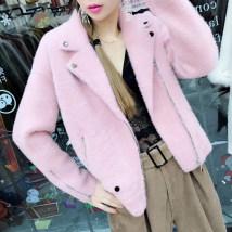 short coat Spring 2018 Average code White skin pink, ginger, yellow, autumn and yellow red Long sleeve Short paragraph conventional Single Loose conventional street suit collar zipper Pure color The season JS8057PDF Pocket button 100% other Pure electricity supplier (only online sales)