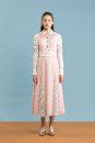 Dress Autumn of 2019 Pink Uk06 spot, uk08 spot, UK10 spot