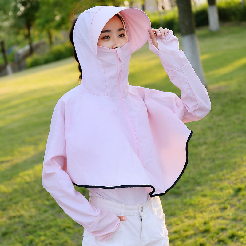Scarf / silk scarf / Shawl other summer female Shawl sunshade other other Student parent child youth Solid color other 71% (inclusive) - 80% (inclusive) Hainuo Shangpin JHY-PJ02 Spring / summer 2018 yes