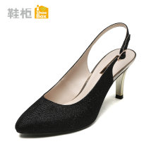Low top shoes thirty-four trillion and three hundred and fifty-three billion six hundred and thirty-seven million three hundred and eighty-three thousand nine hundred and forty Daphne / Daphne Gold 120 black 115 silver 180 Sharp point Fine heel PU Shallow mouth High heel (5-8cm) PU Spring of 2018