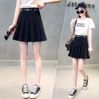 skirt Summer 2021 26 27 28 29 30 black Short skirt Versatile High waist Pleated skirt Solid color Type A 25-29 years old YXZ8101 91% (inclusive) - 95% (inclusive) 72 changes / 72 transformer polyester fiber fold Polyester 92.1% polyurethane elastic fiber (spandex) 7.9% Pure e-commerce (online only)