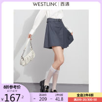 skirt Spring 2021 26 27 28 29 grey Short skirt Versatile High waist Pleated skirt Solid color Type A 25-29 years old D0310250 71% (inclusive) - 80% (inclusive) Westlink / Xiyu polyester fiber Zipper stitching Polyester 75% viscose (viscose) 25% Same model in shopping mall (sold online and offline)