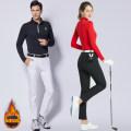 Golf apparel Women's white plush, women's black plush, women's white thickened, women's black thickened, men's white plush, men's black plush, men's gray plush, men's black thickened, men's gray thickened XXXS,XXS,XS,S,M,L,XL,XXL female SWAN LOVE GOLF trousers