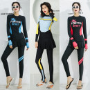 Diving suit AQA (outdoor sports) lovers 201-500 yuan M,L,XL,XXL diving China Winter of 2018 nylon Split body