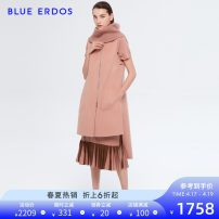 short coat Autumn of 2019 155/76A/XS 160/80A/S 165/84A/M 170/88A/L Rubber red Sleeveless Medium length singleton  easy commute Solid color 25-29 years old blue erdos 81% (inclusive) - 90% (inclusive) wool wool Wool 90% Cashmere (cashmere) 10% Same model in shopping mall (sold online and offline)
