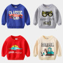 Sweater / sweater Other / other male 90cm,100cm,110cm,120cm,130cm spring and autumn nothing leisure time Socket routine No model cotton Cartoon animation Other 100%