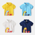 T-shirt White, Navy, sky blue, yellow wellkids 90cm,100cm,110cm,120cm,130cm male summer Short sleeve Lapel and pointed collar leisure time No model nothing cotton Cartoon animation Other 100% tx2314 Sweat absorption 3, 4, 5, 6, 7 Chinese Mainland