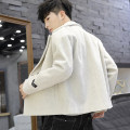 woolen coat M L XL XXL XXXL Tandenberg Youth fashion Polyester 100% Woolen cloth Winter of 2019 routine Other leisure Self cultivation Pure e-commerce (online only) youth tailored collar Single breasted like a breath of fresh air Solid color Cloth hem Side seam pocket other washing Cloth decoration