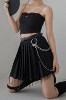 skirt Summer of 2019 XS,S,M,L black