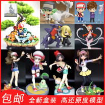 Others Over 6 years old goods in stock Japan game Pokemon PVC series static state 1/8