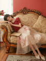 skirt Summer 2020 S,M,L longuette Sweet Natural waist A-line skirt Cartoon animation Type A 18-24 years old polyester fiber princess